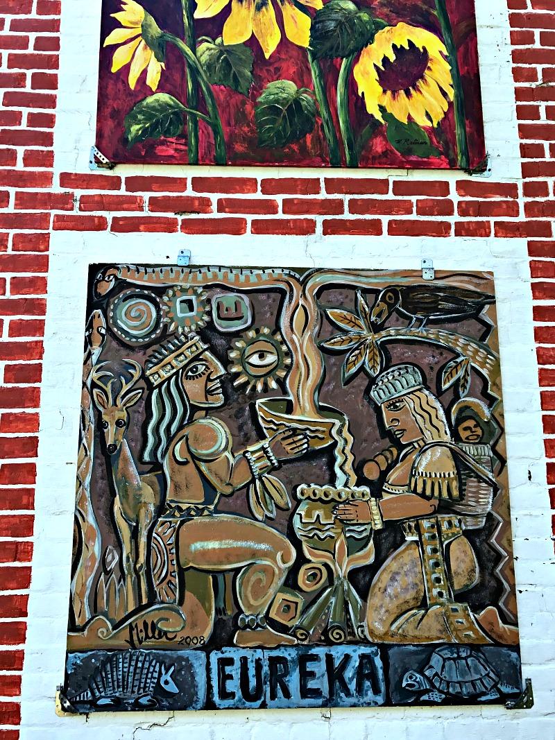 art in Eureka Springs, Arkansas