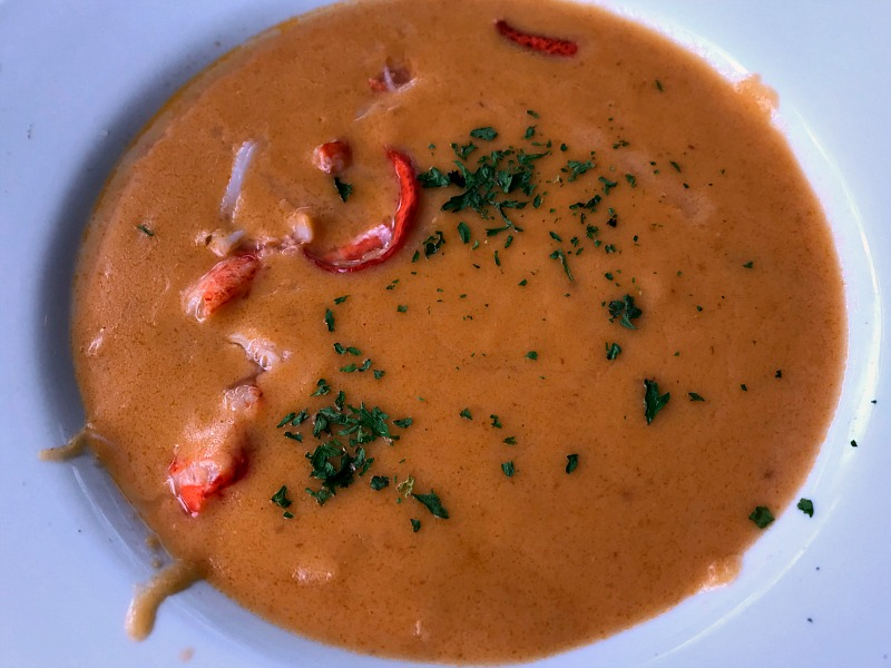 Awful Arthur's lobster bisque