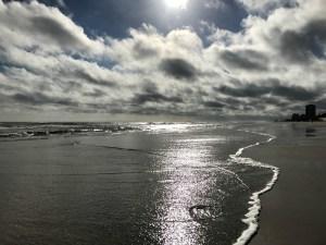Daytona Beach morning walk