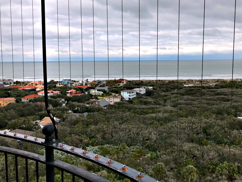 Ponce de Leon inlet view from top
