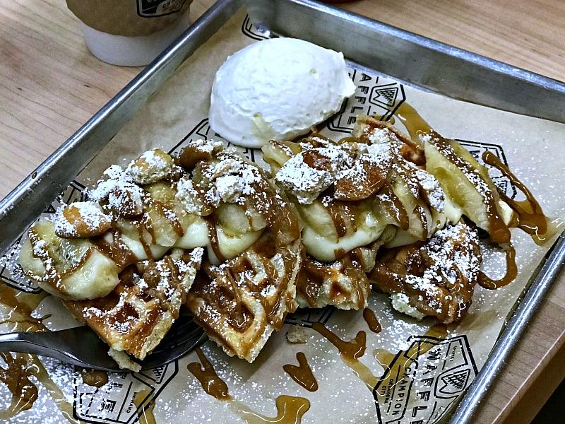 waffle champion banana creme waffles