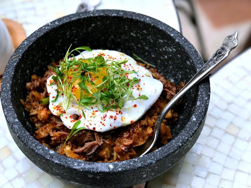 pork cheek fried rice