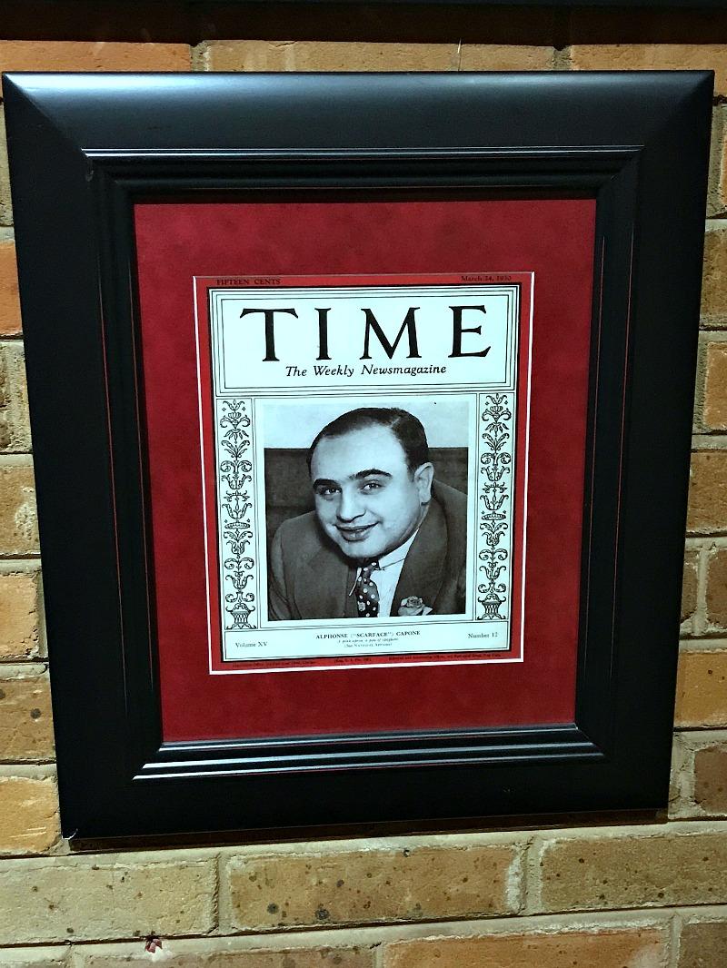 Al Capone Time Magazine