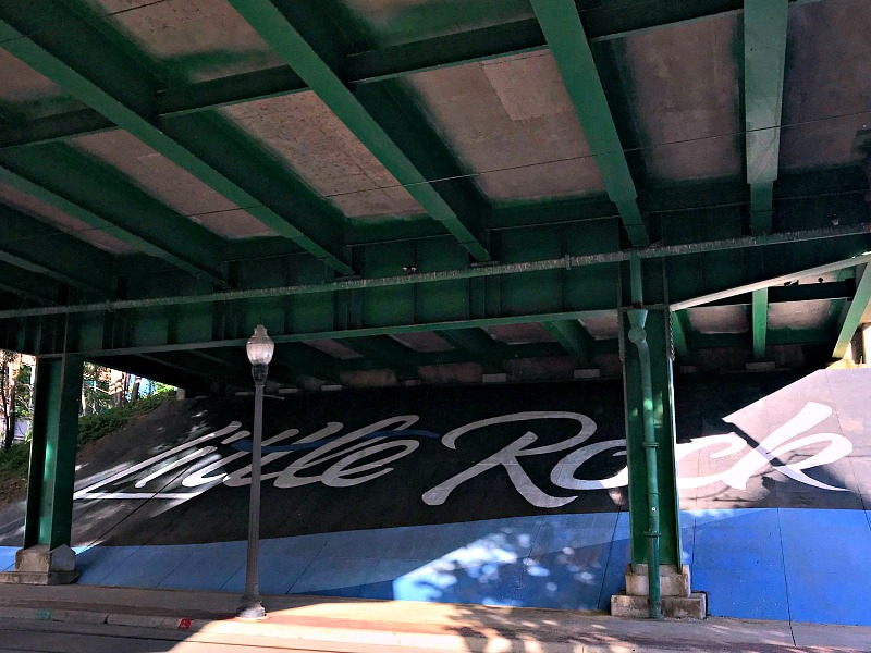 Little Rock mural