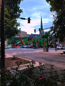 Little Rock street scene
