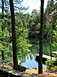 Pinnacle quarry pond