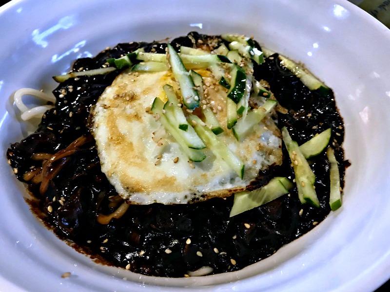 black bean noodle special