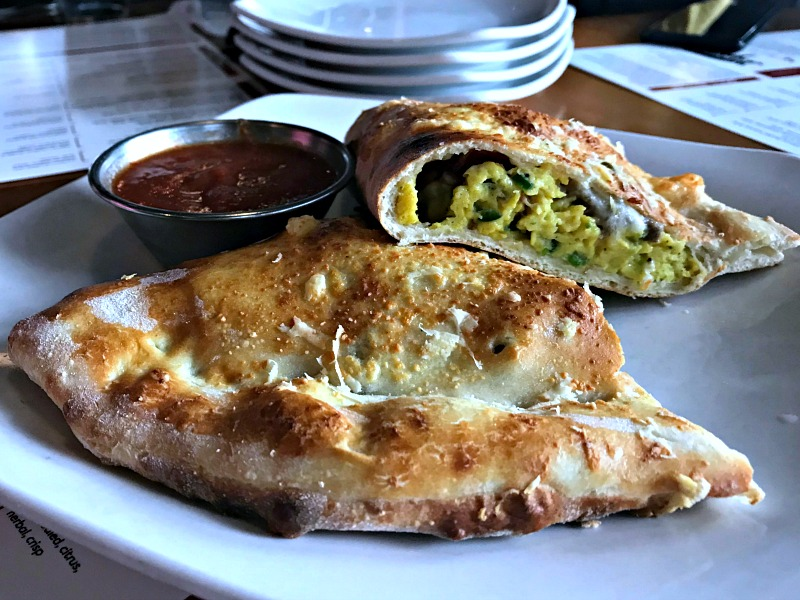 breakfast calzone