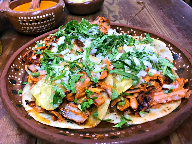 Panchos al pastor tacos