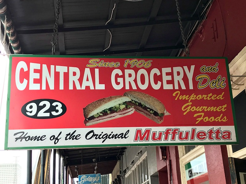 Central Grocery New Orleans