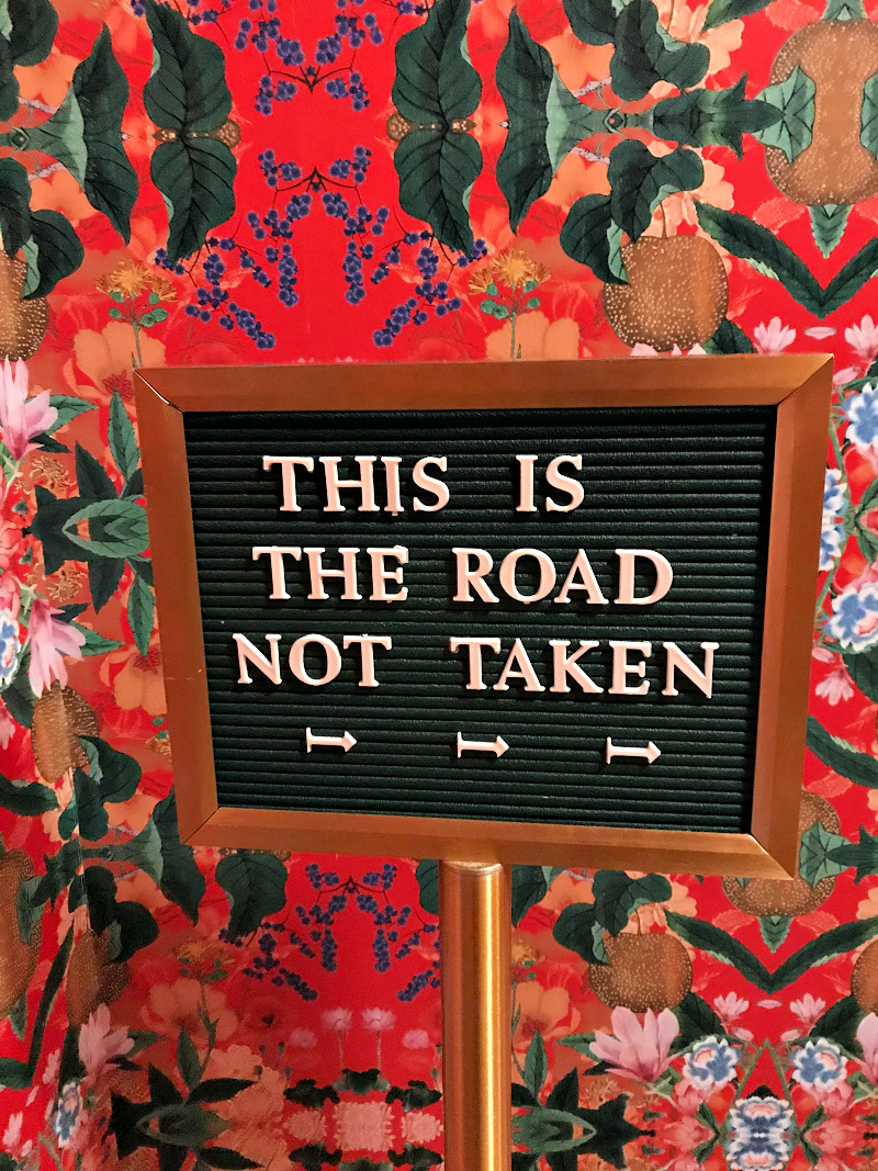 This is the Road Not Taken - Spoken English DC