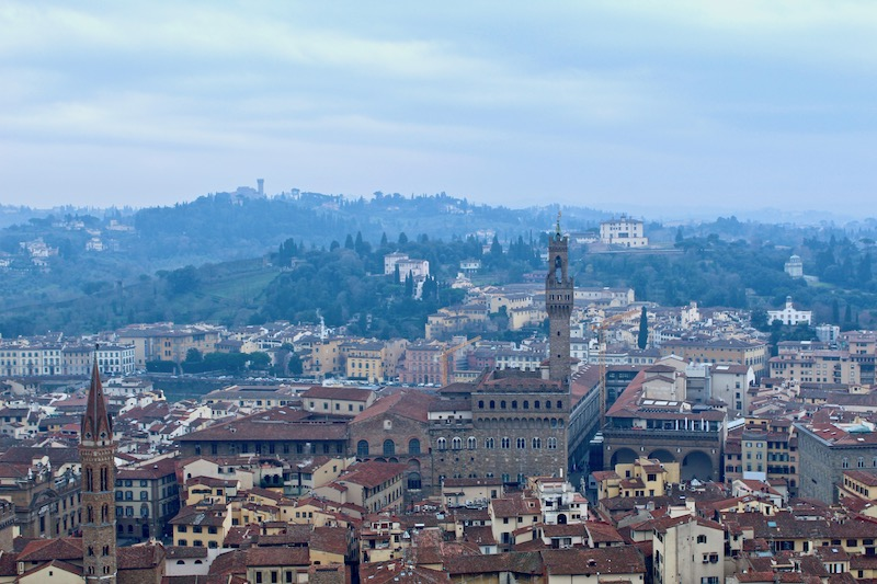 view from the Florence Duomo
