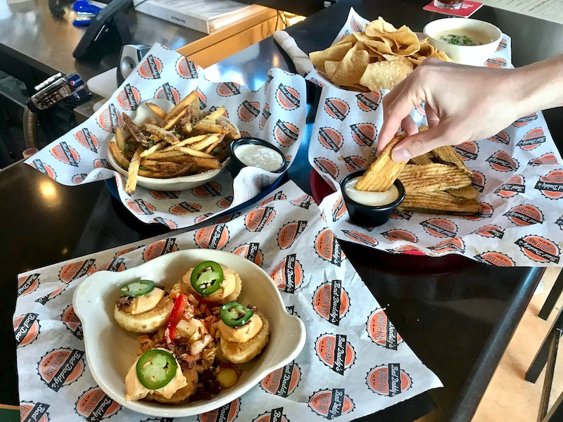 Bad Daddy's Burger Bar Happy Hour food