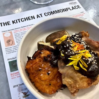 Wine Dinner at the Kitchen at Commonplace Books