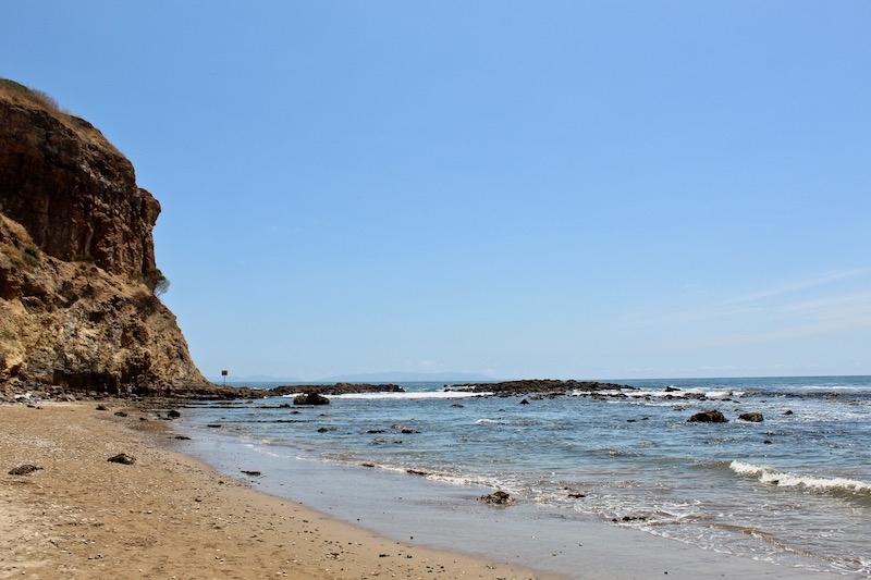 beach at abalone cove