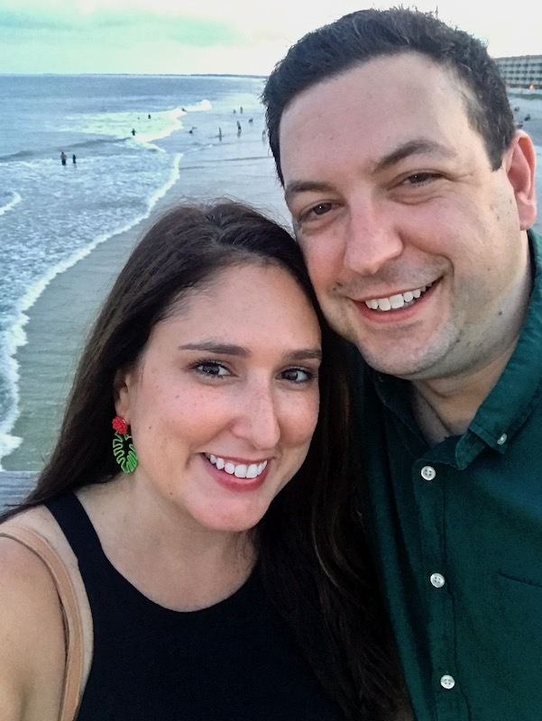 Folly Beach selfie