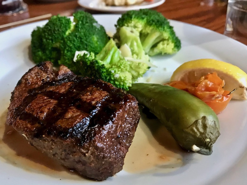 McClintock's Saloon steak