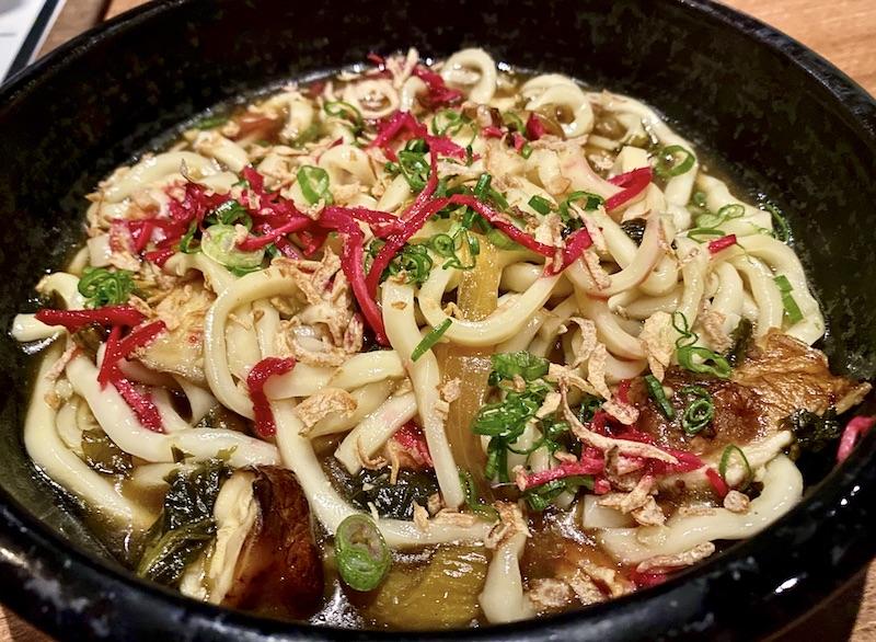 Gun Izakaya mushroom udon
