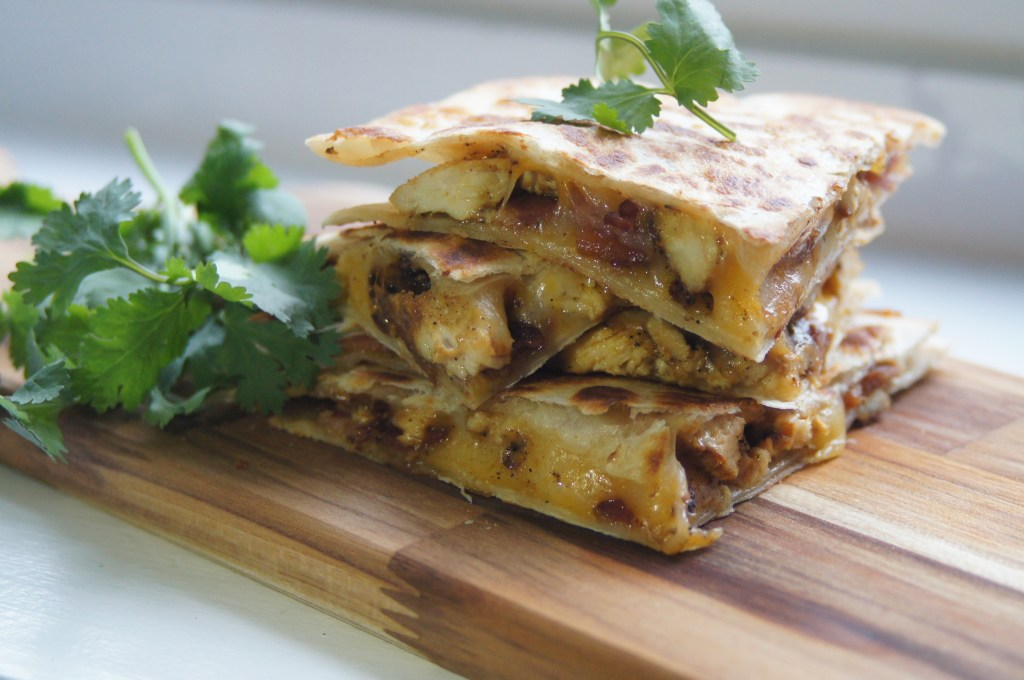 Chicken & Bacon Quesadillas