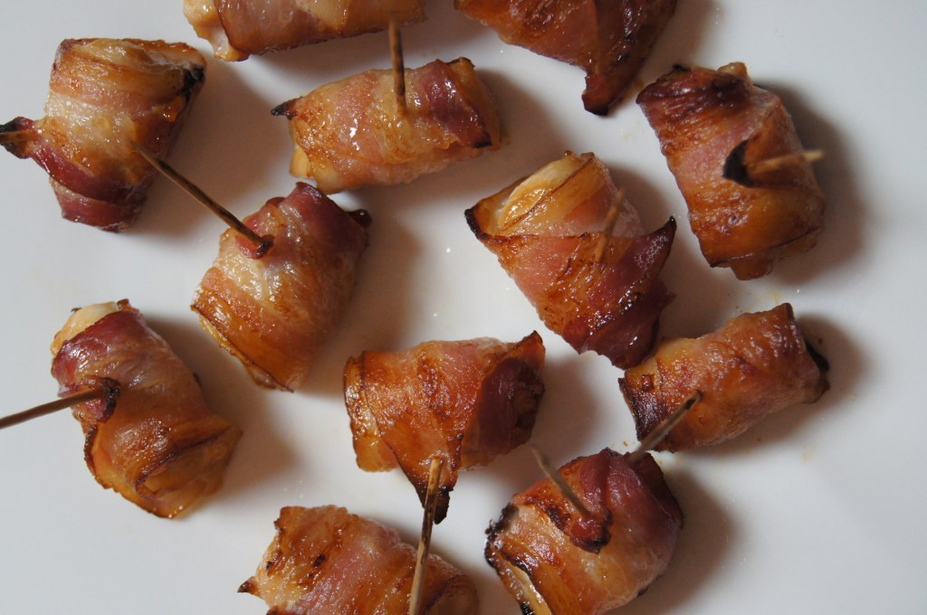 Ginger Chicken Wrapped in Bacon