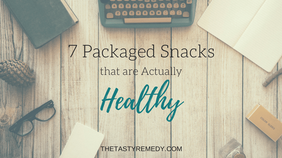 7 Packaged Snacks that are Actually Healthy | thetastyremedy.com