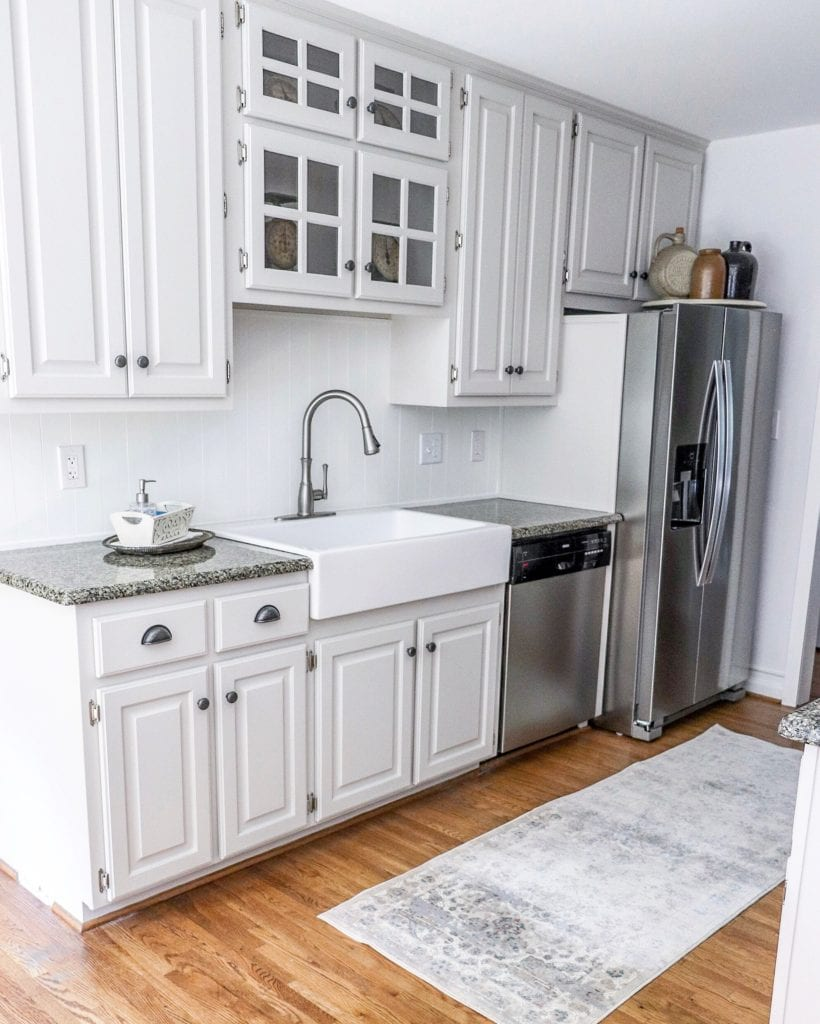 How to add an apron front sink to existing granite counters.