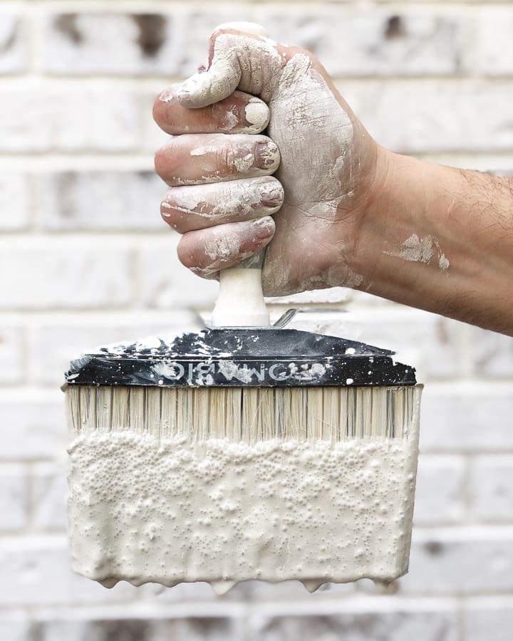 Limewashing your house DIY or DIFM