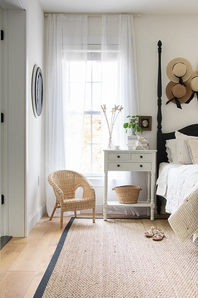 A room makeover without painting the walls.