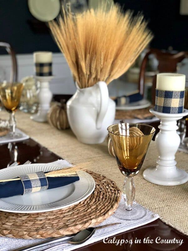 Welcome Home Sunday: Autumn Tablescape two ways Calypso in the Country