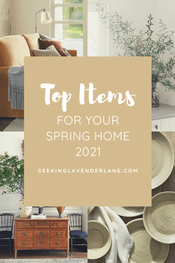Welcome Home Sunday: Spring 2021 Ideas