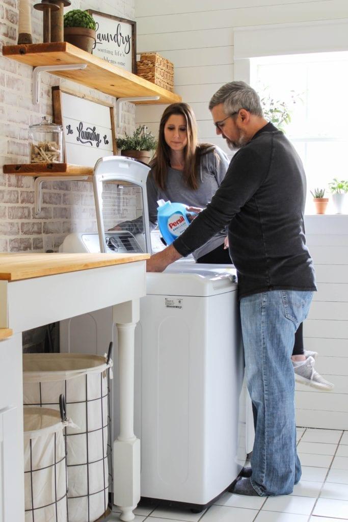 Laundry Hacks: bright white towels