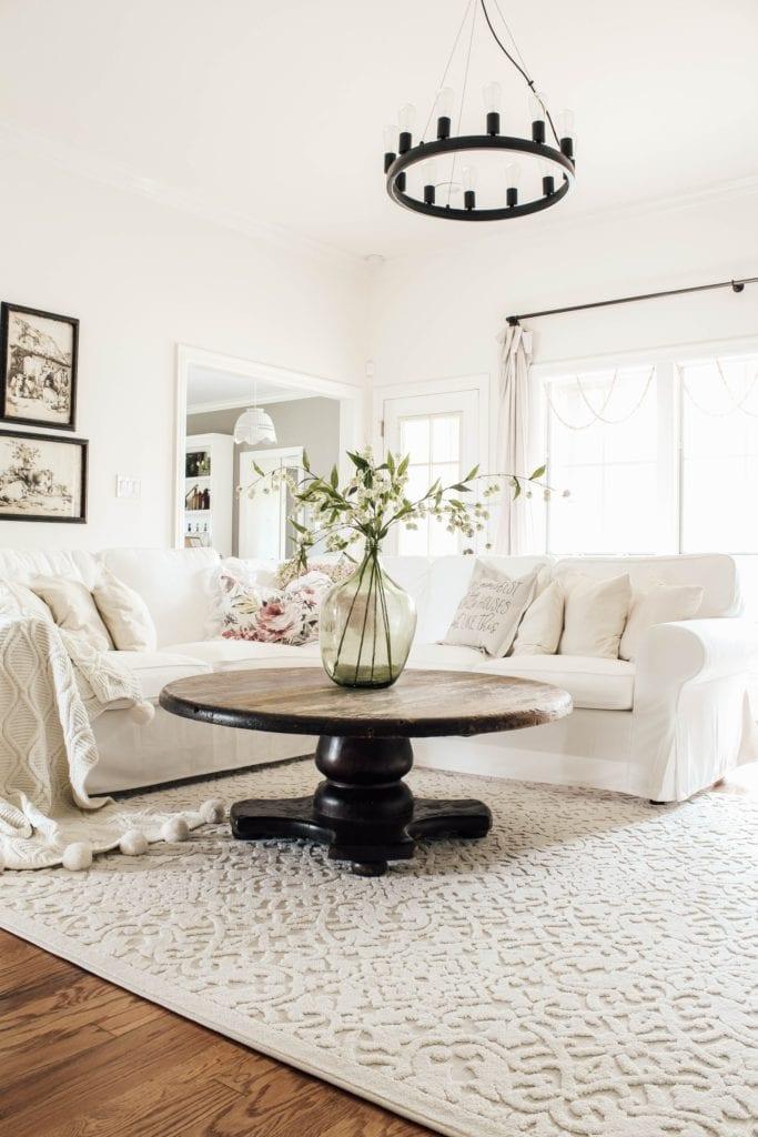 Living room Spring refresh