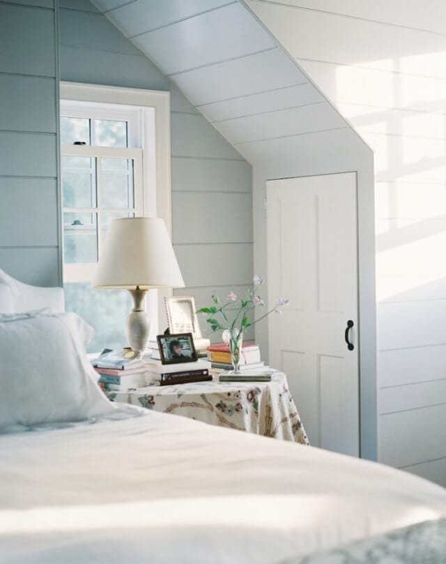 Welcome Home Sunday: pale blue room