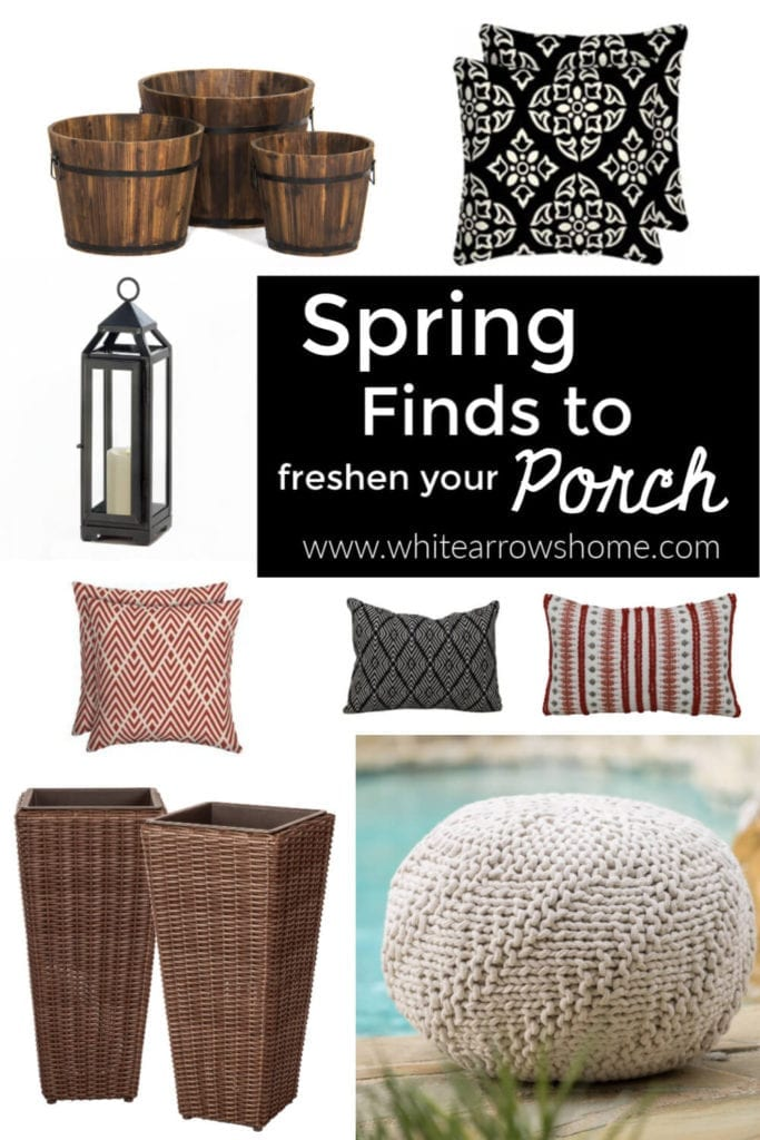 Welcome Home Sunday: Spring Finds for Your Porch