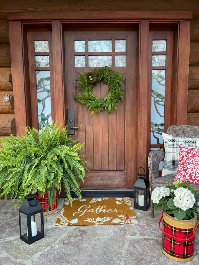 Welcome Home Saturday: Spring to Summer Porches