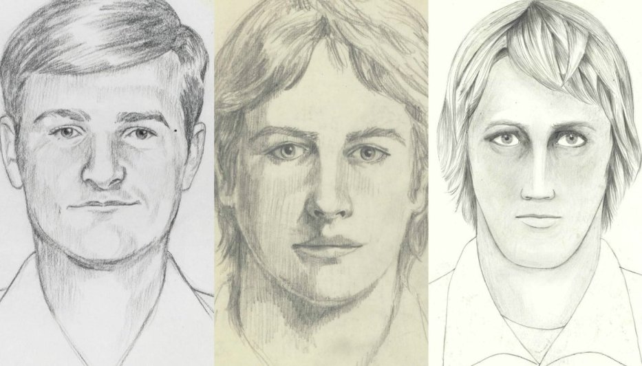 Golden State Killer police sketches