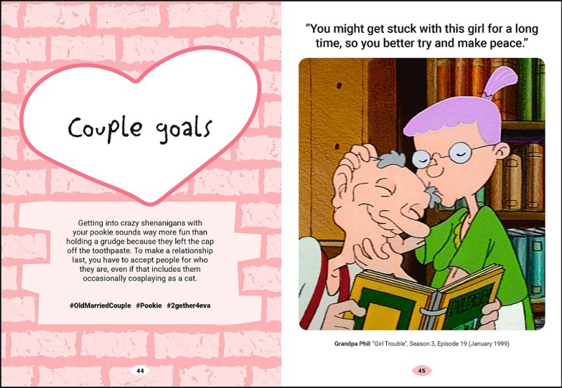 Hey arnold guide to relationships page