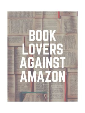 Book lovers against Amazon header