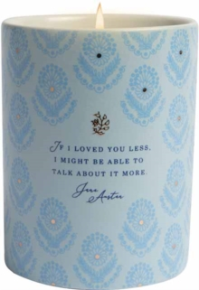 Jane Austen candle
