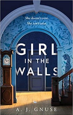 The book cover Girl in the Walls by A J Gnuse