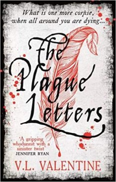 Book cover of The Plague Letters by V.L. Valentine