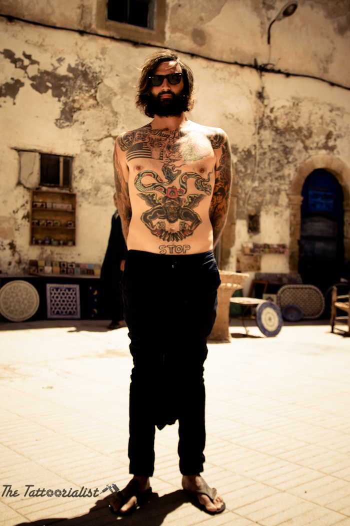 Inked boy in Essaouira-the-tattoorialist