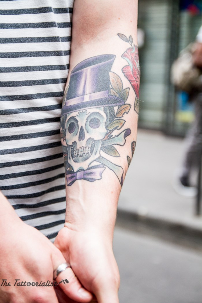 Benoit - Kiloshop the tattoorialist tattooed by Triple Star Tattoo Beaubourg