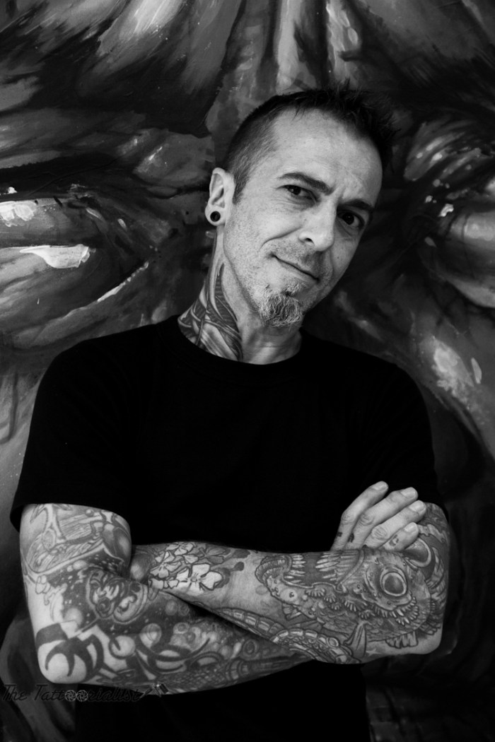 Dimitri HK, French Tattooist by The Tattoorialist