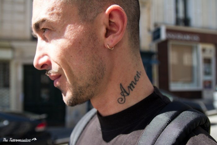 olivier ©The Tattoorialist inked boy , man with tattoo in Paris