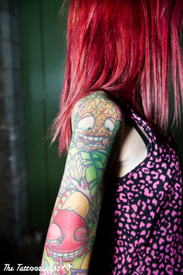 girl with tattoo Olivier Julliand, Raphael Trovato, Poison Ivy, Sailor Xa, Twix, Ulrich Krammer, Joe Capibianco, Arno B Ink, Fabio Moro,