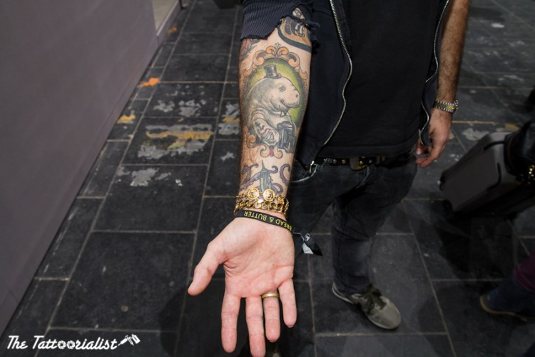 Christian Metzler tattooed by Susanne König photo by Nicolas Brulez The Tattoorialist