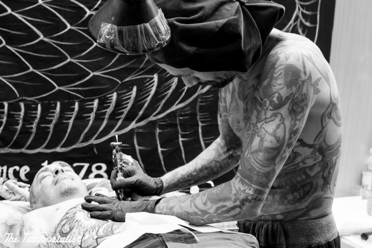 Filip Leu Mondial du Tatouage Paris 2013 ©thetattoorialist