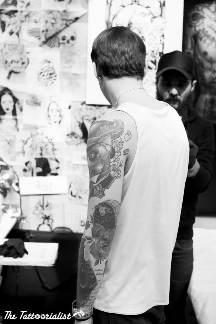 Mondial du Tatouage Paris 2013 ©thetattoorialist