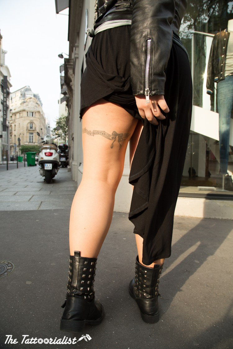girl with tattoos by Iron And Dream Reims Design Art Chaumont Abraxas photos by Nicolas brulez aka The Tattoorialist
